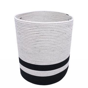 Hot new cotton thread storage laundrybasket bucket