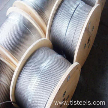 AISI 316 Stainless Steel Wire Rope 7X7 3mm