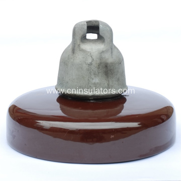 Disc Suspension Porcelain Insulator for Anti-Fog Type
