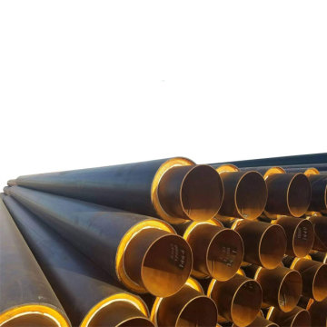 Direct Buried Hdpe Erw Pu Insulation Steel Pipe