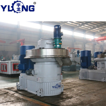 YULONG XGJ850 2.5-3.5T/H cornstraw pellet making machine price