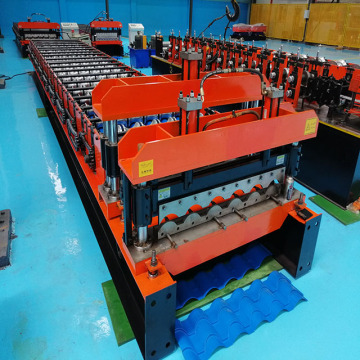 Color Steel Glazed Tile Cold Roll Forming Machine