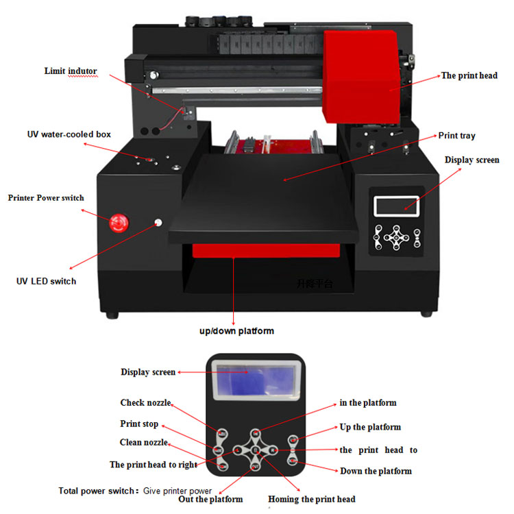 Dtg A3 T-Shirt Printer