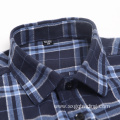 Fashion 100% cotton flannel long sleeve shirt