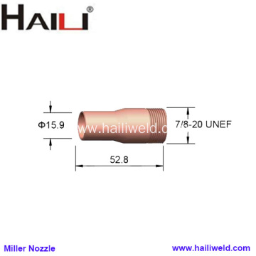 "Miller Nozzle 049929 5/8"" for GA-20C gun"