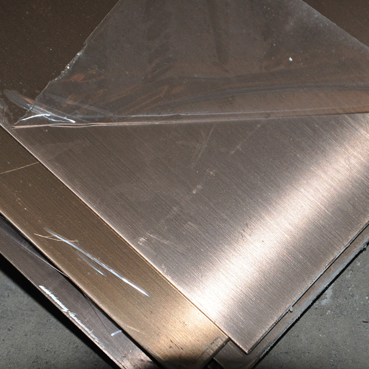 hairline stainless steel plate