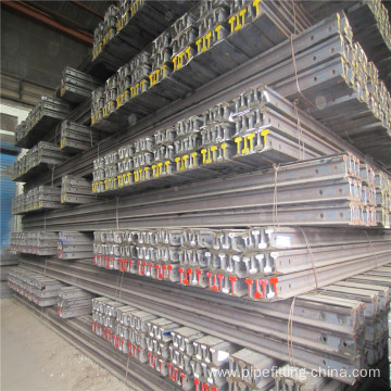 Steel railway p24 rail 55Q Q235 mine rail