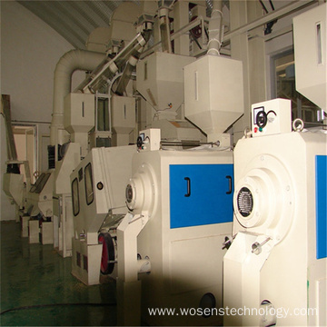 3tons per hour complete set rice processing machine