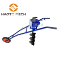 62cc hand push earth auger hole drilling machine