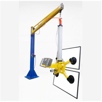 Adjustable manual vacuum suction crane