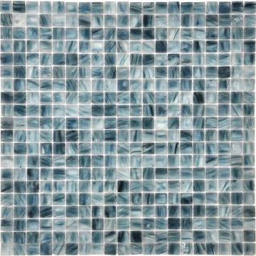 Dark blue transparent ice series modern mosaic tiles