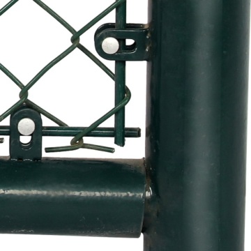 PVC Coated Chain Link Mesh Fence For Tender