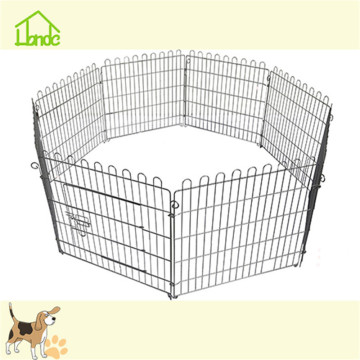 Outdoor pet exercise playpen folding fence