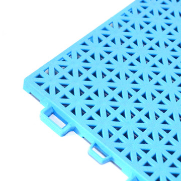 Interlocking Plastic Modular Volleyball tiles