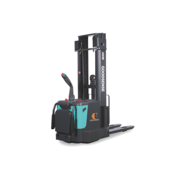 Powerful Electric Stacker With Different Model Mast
