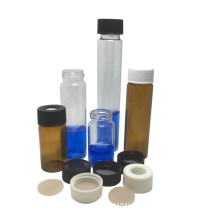 30ml Glass Vial Tubular With Screw And Cap