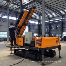 Air water well portable mine drilling rig