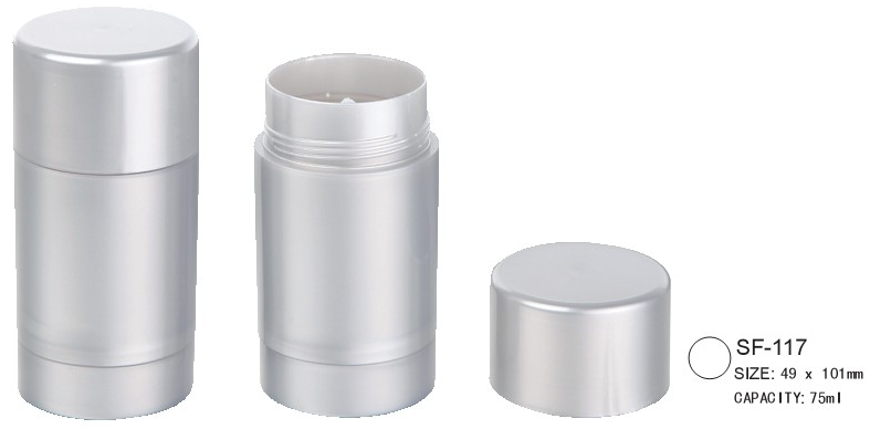 empty foundation stick container/case/packaging SF-117