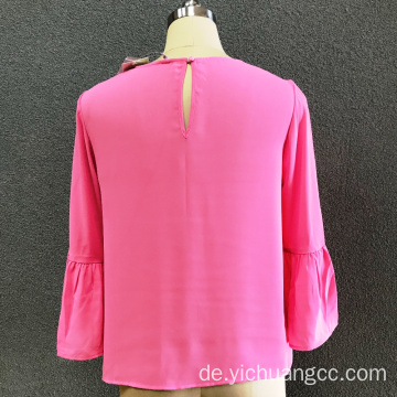 Damen-Polyester-Bluse aus Polyester