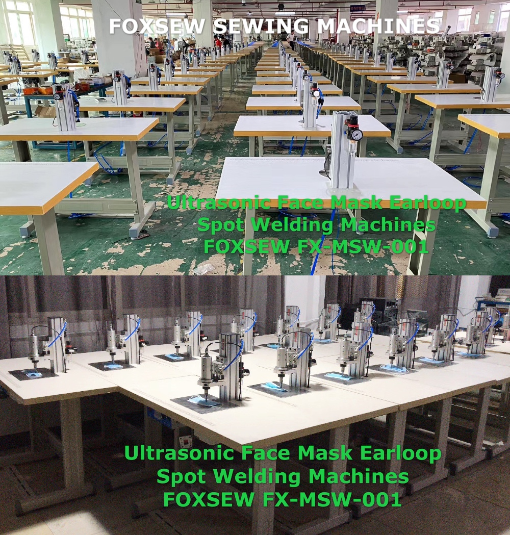 Ultrasonic Face Mask Earloop Spot Welding Machines FOXSEW FX-MSW-003 (3)