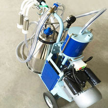 Piston typed Single barrel Portable milking machine
