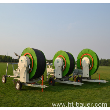 300m length hose reel irrigation