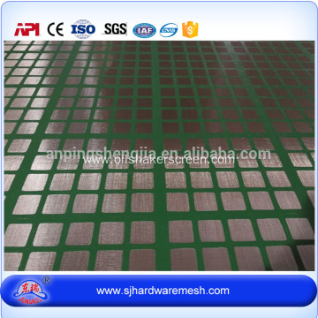 ZS oil shale shaker screen with steel frame