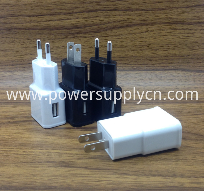US Plug 5V2.1A USB Phone Charger