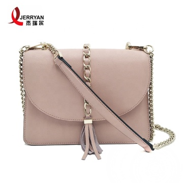 Light Pink Chain Crossbody Bags Clutch Purses