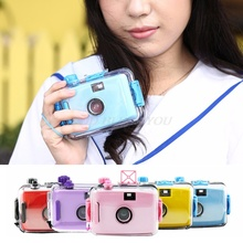 For Lomo Underwater Waterproof Camera Mini Cute 35mm Film With Housing Case Drop Shipping