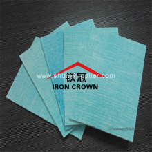 Moistureproof Wall panel Fireproof Green Color MgO Board