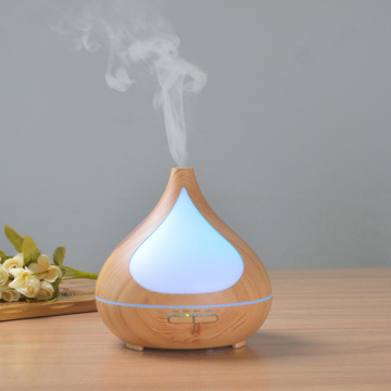 Dark Wooden Ultrasonic Atomizer Air Humidifier
