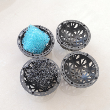 Moving Bed Filter Media 76mm Diameter Aquarium Bio Filter Ball
