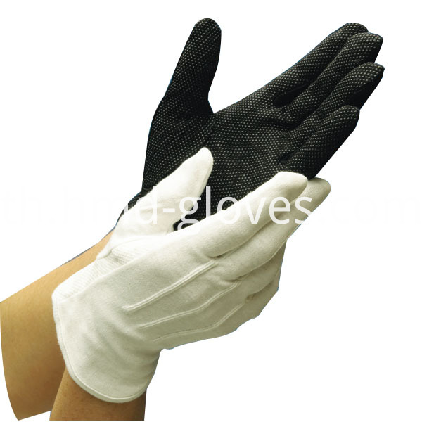 Cotton Sure Grip Gloves