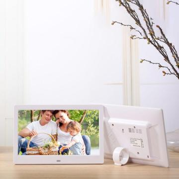 EastVita 10.1 Inch Widescreen Digital Photo Frame 1024x600 HD Ultra-Thin LED Electronic Photo Album LCD Photo Frame r20