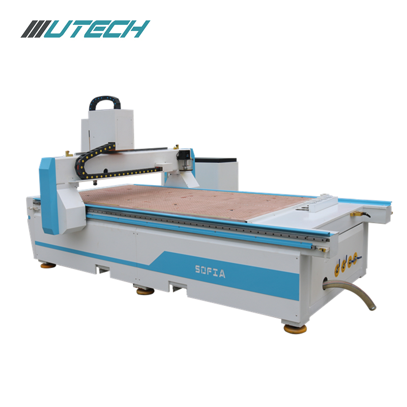 Cnc Router with Automatic Tool Changer