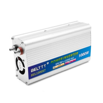 1000W Silver-White Aluminum Shell High Efficiency Inverter