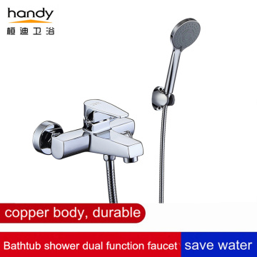 Brass Bathtub Shower Mixer Faucet with Hand Shower