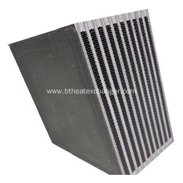 Alumium Plate Bar Heat Exchanger Core
