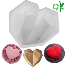 Silicone Heart Diamond Shaped Cake Mold