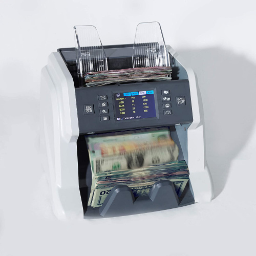 Multi Currency Mixed Denomination Money Counter