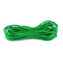 Construction engineering 5mm green pe rope