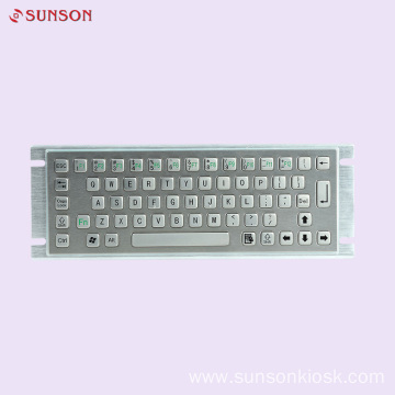 Metal Keyboard for Information Kiosk