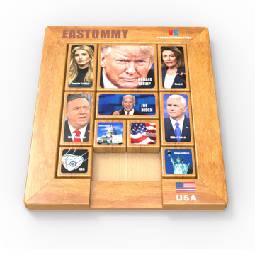 Child Intelligence Jigsaw presidential race game