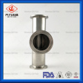 SS304 or SS316 Sanitary Piping component fittings tee