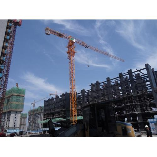 QTZ190 TC6519 12t Topless Flat-top Tower Crane
