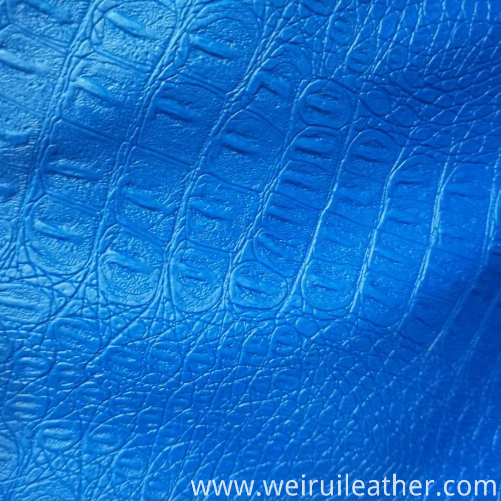 Emulational Snake Grain Pvc Leather