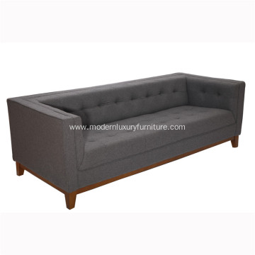 Wooden Frame Woolen Fabric Atwood Sofa
