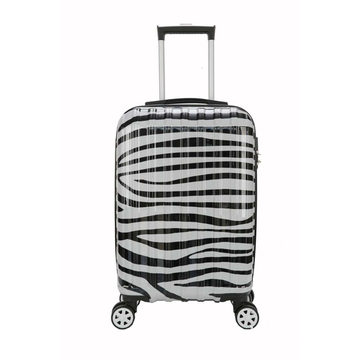 ABS PC rolling popular printed luggage