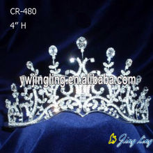 Curved Beauty Rhinestone Queen Crowns